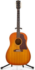 Musical Instruments:Acoustic Guitars, 1964 Gibson J45 Sunburst Acoustic Guitar #186727...