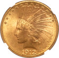 Indian Eagles, 1912-S $10 MS63 NGC....