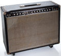 Musical Instruments:Amplifiers, PA, & Effects, 1970's Music Man 212 HD-130 Black Guitar Amplifier #C007133...