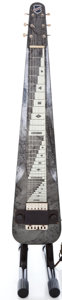 Musical Instruments:Lap Steel Guitars, 1949 National Chicagoan Gray Pearloid Lap Steel Guitar #V18286...