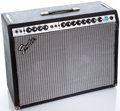 Musical Instruments:Amplifiers, PA, & Effects, 1970's Fender Twin Reverb Project Silverface Guitar Amplifier#A834930...