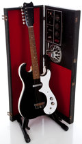 Musical Instruments:Amplifiers, PA, & Effects, 1960 Silvertone Amp-In-Case 1448 Black Guitar Amplifier ...