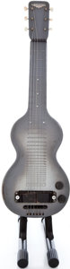 Musical Instruments:Lap Steel Guitars, 1940's Rickenbacher Electro Grey Lap Steel Guitar ...