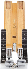 Musical Instruments:Lap Steel Guitars, 1953 Fender Double 8 Professional Parts Project Blonde Lap SteelGuitar ...