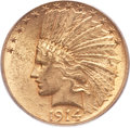 Indian Eagles, 1914-S $10 MS61 PCGS....