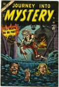 Golden Age (1938-1955):Horror, Journey Into Mystery #15 (Marvel, 1954) Condition: GD+....