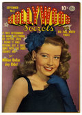 "Golden Age (1938-1955):Romance, Hollywood Secrets #6 Davis Crippen (""D"" Copy) pedigree (Quality,1950) Condition: VF+...."