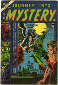 Golden Age (1938-1955):Horror, Journey Into Mystery #14 (Marvel, 1953) Condition: VG-....