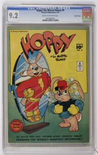 Hoppy the Marvel Bunny #9 Crowley Copy pedigree (Fawcett, 1947) CGC NM- 9.2 Cream to off-white pages