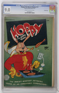 Golden Age (1938-1955):Funny Animal, Hoppy the Marvel Bunny #12 Crowley Copy pedigree (Fawcett, 1947)CGC VF/NM 9.0 Cream to off-white pages....