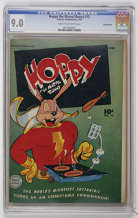 Hoppy the Marvel Bunny #12 Crowley Copy pedigree (Fawcett, 1947) CGC VF/NM 9.0 Cream to off-white pages