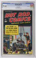 Golden Age (1938-1955):Miscellaneous, Hot Rod Comics #3 Crowley Copy pedigree (Fawcett, 1952) CGC NM 9.4 Off-white pages....