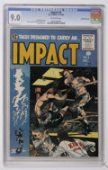 Golden Age (1938-1955):Horror, Impact #5 Gaines File pedigree (EC, 1955) CGC VF/NM 9.0 Off-whitepages....