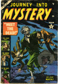 Golden Age (1938-1955):Horror, Journey Into Mystery #11 (Marvel, 1953) Condition: GD+....