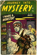 Golden Age (1938-1955):Horror, Journey Into Mystery #9 (Marvel, 1953) Condition: GD....