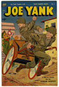 "Golden Age (1938-1955):War, Joe Yank #5 and 13 Group - Davis Crippen (""D"" Copy) pedigree(Standard, 1952-53).... (Total: 2)"