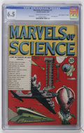 "Golden Age (1938-1955):Non-Fiction, Marvels of Science #1 Davis Crippen (""D"" Copy) pedigree (Charlton,1946) CGC FN+ 6.5 Cream to off-white pages...."