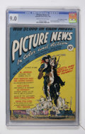 """Golden Age (1938-1955):Non-Fiction, Picture News #2 Davis Crippen (""""D"""" Copy) pedigree (Lafayette StreetCorp., 1946) CGC VF/NM 9.0 Cream to off-white pages...."""