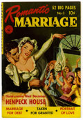 "Golden Age (1938-1955):Romance, Romantic Marriage #3 Davis Crippen (""D"" Copy) pedigree (Ziff-Davis,1950) Condition: VF/NM...."