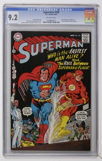 Superman #199 (DC, 1967) CGC NM- 9.2 Off-white pages