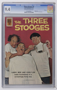 Three Stooges CGC File Copy Group (Dell/Gold Key, 1961-69).... (Total: 7)