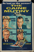 """Movie Posters:War, The Caine Mutiny (Columbia, 1954). One Sheet (27"""" X 41""""). War.. ..."""