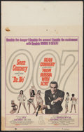 "Movie Posters:James Bond, Dr. No/From Russia with Love Combo (United Artists, R-1965). WindowCard (14"" X 22""). James Bond.. ..."