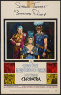 "Movie Posters:Historical Drama, Cleopatra (20th Century Fox, 1964). Window Card (14"" X 22"").Historical Drama.. ..."