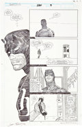 Original Comic Art:Panel Pages, John Romita Jr. and Al Williamson Daredevil #280 page 3 Original Art (Marvel, 1990)....
