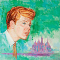 Mainstream Illustration, JACK FARAGASSO (American, b. 1929). Van Cliburn Album Cover.Gouache and tempera on board. 15.25 x 15.25 in.. Signed low...