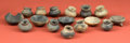 American Indian Art:Pottery, Collection of Sixteen Miniature Teotihuacan Vessels ... (Total: 16Items)