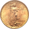 Saint-Gaudens Double Eagles, 1912 $20 MS64 PCGS....