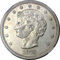 Patterns, 1873 T$1 Trade Dollar, Judd-1281, Pollock-1423, R.4, PR45 NGC....