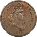 Patterns, 1859 P50C Half Dollar, Judd-242, Pollock-298, R.5, PR58 NGC....