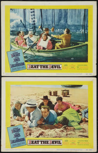 """Beat the Devil (United Artists, 1953). Lobby Cards (2) (11"""" X 14""""). Adventure. ... (Total: 2 Items)"""