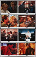 "Movie Posters:Thriller, Basic Instinct (Tri-Star, 1992). Lobby Card Set of 8 (11"" X 14""). Thriller.. ... (Total: 8 Items)"
