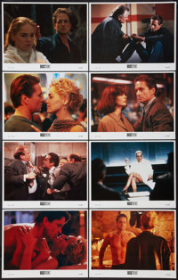 "Basic Instinct (Tri-Star, 1992). Lobby Card Set of 8 (11"" X 14""). Thriller. ... (Total: 8 Items)"