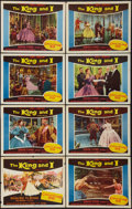 "Movie Posters:Musical, The King and I (20th Century Fox, 1956). Lobby Card Set of 8 (11"" X 14""). Musical.. ... (Total: 8 Items)"
