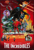 "Movie Posters:Animated, The Incredibles (Buena Vista, 2004). One Sheet (27"" X 41"") SSAdvance Collage Style. Animated.. ..."