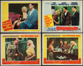 "Movie Posters:Sexploitation, Jayne Mansfield Lot (20th Century Fox, 1956-1957). Lobby Cards (4)(11"" X 14"") and Uncut Pressbook (Multiple Pages, 13"" X 16...(Total: 5 Items)"