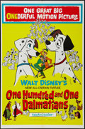 "Movie Posters:Animated, 101 Dalmatians (Buena Vista, 1961). One Sheet (27"" X 41"").Animated.. ..."