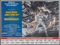 "Movie Posters:James Bond, Moonraker (United Artists, 1979). Subway (45"" X 59"") Advance. James Bond.. ..."