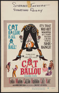 """Movie Posters:Comedy, Cat Ballou & Other Lot (Columbia, 1965). Window Cards (2) (14"""" X 22""""). Comedy.. ... (Total: 2 Items)"""