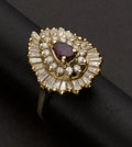 Estate Jewelry:Rings, Estate Ruby & Diamond Ring. ...