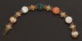 Estate Jewelry:Bracelets, Cameo & Gold Bracelet. ...
