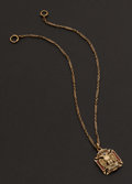 Estate Jewelry:Other , Masonic Fob & Chain. ...
