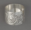Silver Holloware, American:Napkin Rings, A MARKOWITZ SILVER UNITED STATES MILITARY ACADEMY NAPKIN RING .L.M. Markowitz, New York, New York, circa 1920. Marks:L.M...