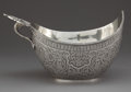 Silver Holloware, Continental:Holloware, A RUSSIAN STYLE SILVER PRESENTATION KOVSH. Unknown maker, possiblyRussian, circa 1980. Marks: (spurious marks for M. Ovchin...
