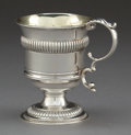 Silver Holloware, British:Holloware, A JOSEPH ANGELL SILVER CUP . Joseph Angell, London, England, circa1825-1826. Marks: (lion passant), (leopard's head), (duty...