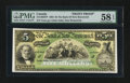 Canadian Currency: , Saint John, NB- The Bank of New Brunswick $5 Oct. 1, 1902 Ch. # 515-16-03FP Face Proof . ...